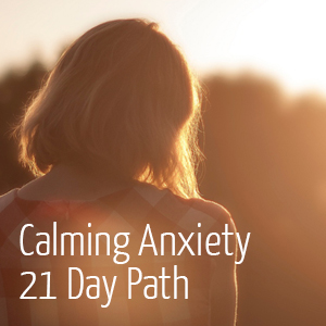 Calming prayer for anxiety